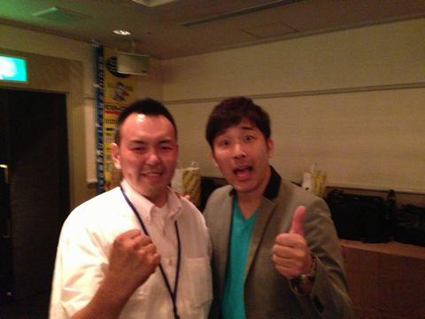 7月17日 ミスタービジネス年次総会 あべこうじさんとの写真有り